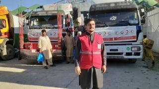 Türkiye'den Afganistan'a 142 tonluk gıda yardımı