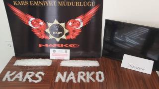 Televizyonun içine uyuşturucu gizleyen 2 kişi tutuklandı