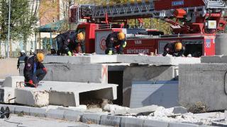 Van'da deprem tatbikatı yapıldı