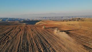 Zengilan'daki araziler tarıma hazırlanıyor
