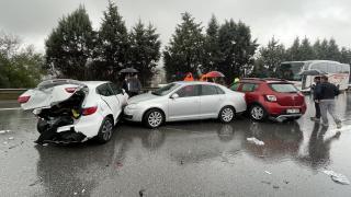 Anadolu Otoyolu'nda zincirleme trafik kazası: 17 yaralı