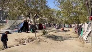 TRT Haber, Kabil'de Afganların zor şartlarda yaşadığı kampta
