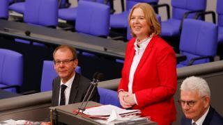 Almanya'da Federal Meclis Başkanı SPD'li Baerbel Bas oldu