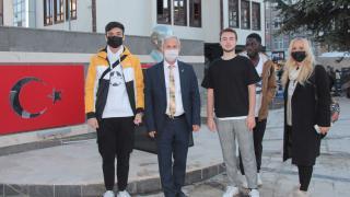 Yabancı öğrenciler Beypazarı'nı gezdi