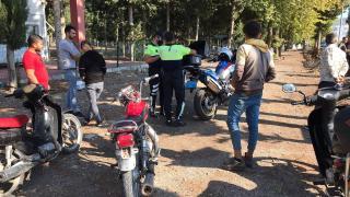 Antalya'da motosiklet denetimi: 380 sürücüye ceza kesildi