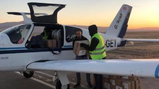 Kayseri'de tilkiler havadan atılan tabletlerle aşılanıyor