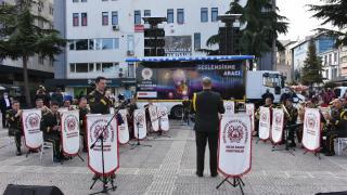 Samsun'da askeri bandodan 29 Ekim'e özel konser