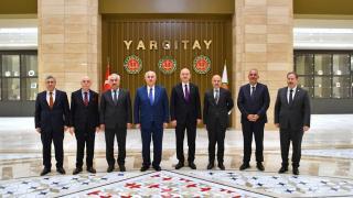 Bakan Soylu'dan Yargıtay ve Sayıştay başkanlarına ziyaret