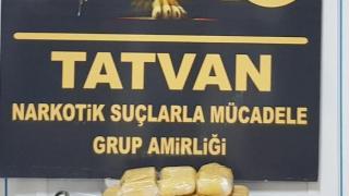 Bitlis'te 34 kilogram eroin ele geçirildi
