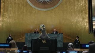 Dinozordan dünya liderlerine mesaj: Yok olmayı seçme