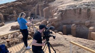 Discovery Channel Şanlıurfa'da belgesel çekiyor