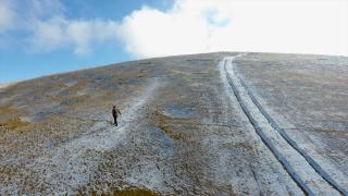 Düzce'nin 1830 rakımlı Kardüz Yaylası'na kar yağdı