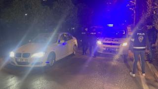 Polisin 'dur' ihtarına uymayan ehliyetsiz sürücü yakalandı