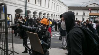 Ekvador'da hükümet karşıtı protestolar