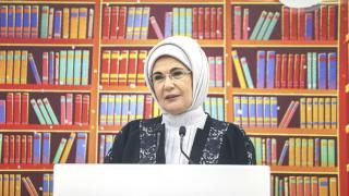 Emine Erdoğan: Kütüphane, 7'den 70'e herkes için temel bir ihtiyaçtır