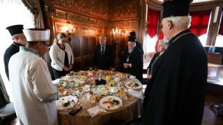 Bartholomeos Türkiye'nin Washington büyükelçisiyle görüştü
