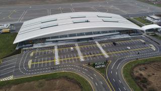Erdoğan ve Aliyev'in açılışını yapacağı Fuzuli Havalimanı tamamlandı
