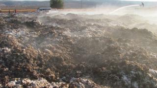 Gaziantep'te yangın: 90 ton pamuk yandı