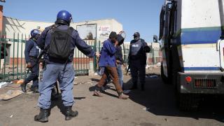Güney Afrika'da güvenlik operasyonu: 700'den fazla gözaltı