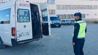 Kahramanmaraş'ta öğrenci servisleri denetlendi