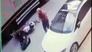 Kaza yaptırdı; yardım etmek yerine yoluna devam etti