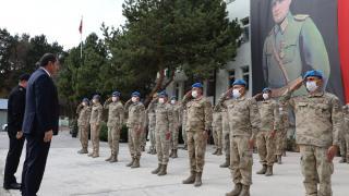 Sivas'tan sel bölgesine giden askerlere teşekkür belgesi verildi