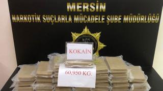 Mersin Uluslararası Limanı'nda kokain ele geçirildi