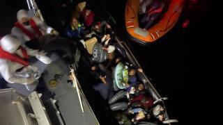 Muğla'da 46 düzensiz göçmen kurtarıldı
