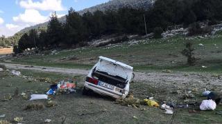 Muğla'da yol kenarına otomobil devrildi: 1 ölü, 1 yaralı
