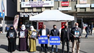 Muş'ta HDP önünde eylem yapan aile sayısı 13'e yükseldi