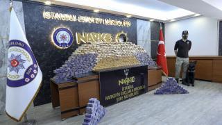 İstanbul'da 285 kilogram uyuşturucu ele geçirildi