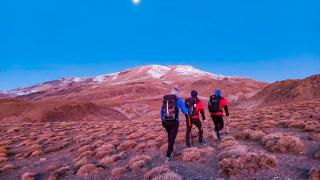 Dağcılar Süphan ve Nemrut dağlarında zirve yaptı