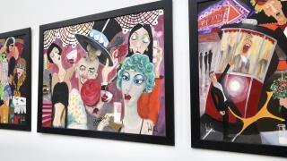 Londra'da 100'den fazla Türk sanat eseri sanatseverlerle buluştu