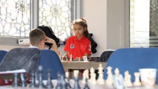 Mazıdağı'nda 'Cumhuriyet'e özel satranç turnuvası düzenlendi