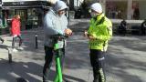 Kurallara uymayan scooter sürücülerine ceza
