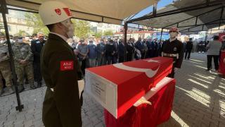 Şehit Uzman Çavuş Yunus Emre Yalman'ın cenazesi defnedildi