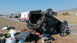 Amasya'daki trafik kazasında 3 kişi yaralandı