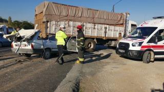 Manisa'da trafik kazasında 1 kişi hayatını kaybetti