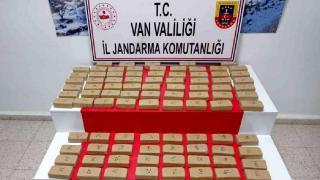 Van'da 123 kilo uyuşturucu ele geçirildi