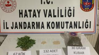 Hatay'da uyuşturucu operasyonunda bir şüpheli tutuklandı