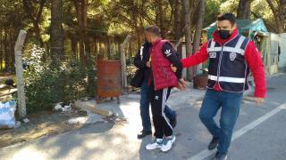 Manisa'da valizinde uyuşturucu bulunan yolcu gözaltına alındı