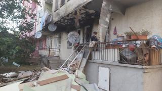 Kırşehir'de sağlık çalışanları yangında kullanılamaz hale gelen evin tadilatını yaptırdı