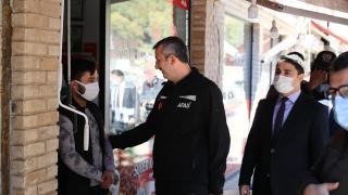 AFAD Başkanı Yunus Sezer, Giresun'da incelemelerde bulundu
