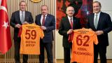 Galatasaray Başkanı Burak Elmas'dan Mustafa Şentop ve Kemal Kılıçdaroğlu'na ziyaret