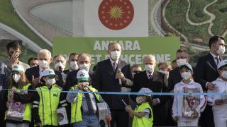 Cumhurbaşkanı Erdoğan: Yeşil kalkınma hedefimizin lokomotifi de Ankara olacaktır