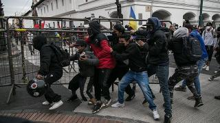 Ekvador'da hükümet karşıtı protestolar sürüyor