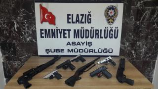 Elazığ'da asayiş uygulamalarında yakalanan 19 kişi tutuklandı
