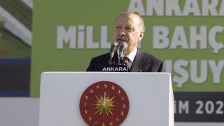 Cumhurbaşkanı Erdoğan: Yeşil kalkınma hedefimizin lokomotifi de Ankara olacak