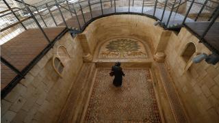 Dünyanın en büyük mozaik tablosu halka açıldı