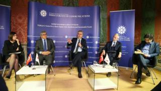 """İletişim Başkanlığından Roma'da """"COVID-19 Sonrası Küresel Yönetişim"""" paneli"""